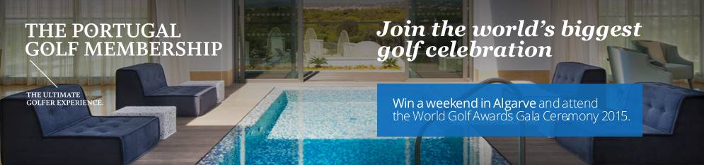 Win a weekend in the Algarve with The Portugal Golf Membership to attend the World Golf Awards Gala Ceremony 2015