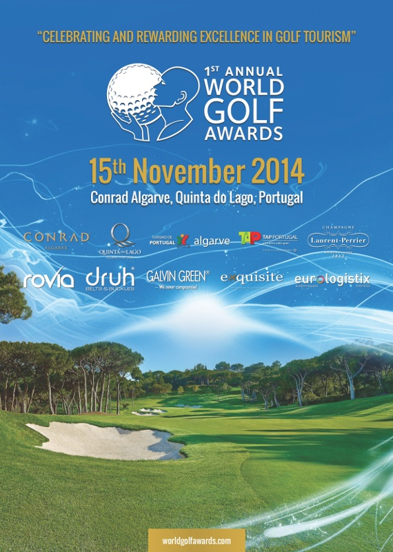 World Golf Awards Gala Ceremony 2014