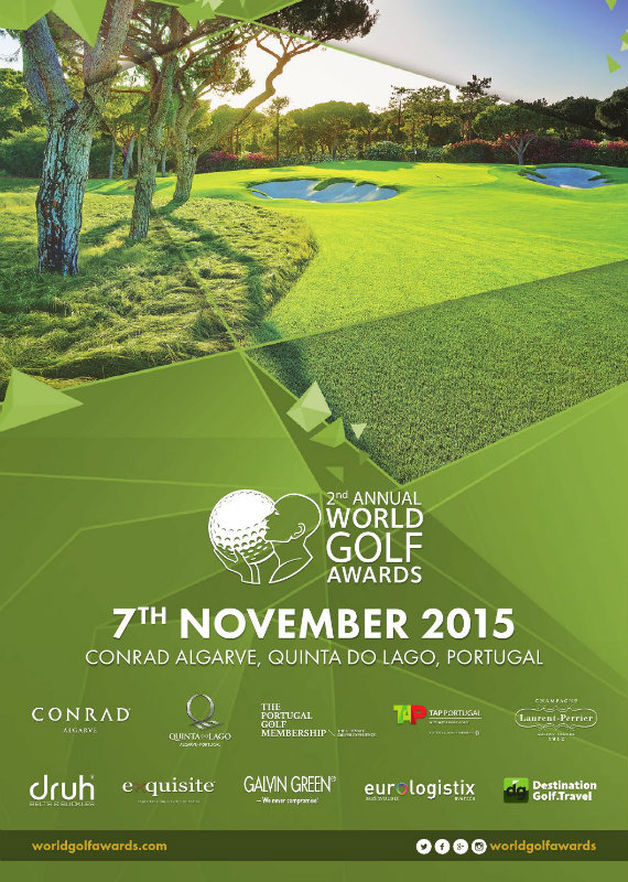 World Golf Awards Gala Ceremony 2015