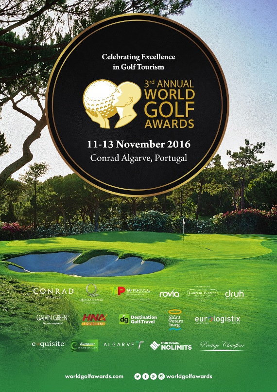 World Golf Awards Gala Ceremony 2016