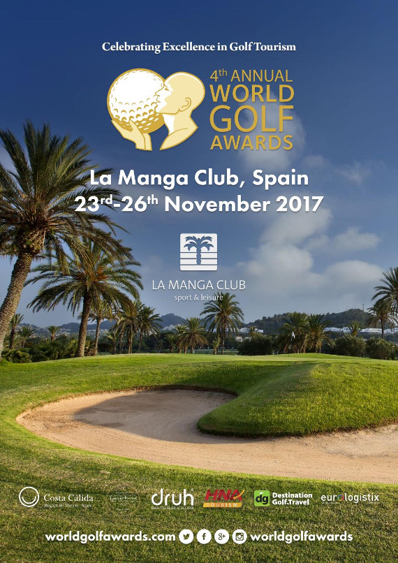 World Golf Awards 2017 event programme