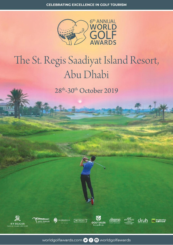 World Golf Awards Gala Ceremony 2019